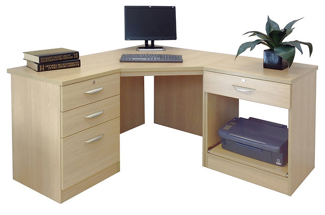 Set 12 – Three Part Corner Desk Set
