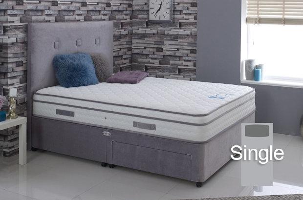 Cool Comfort 1500 Single Divan Bed