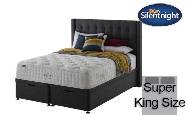 Silentnight Mirapocket Sublime Geltex 2000 Super King Size Divan Bed