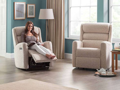 Celebrity Somersby Fabric Armchair & Recliner Chair