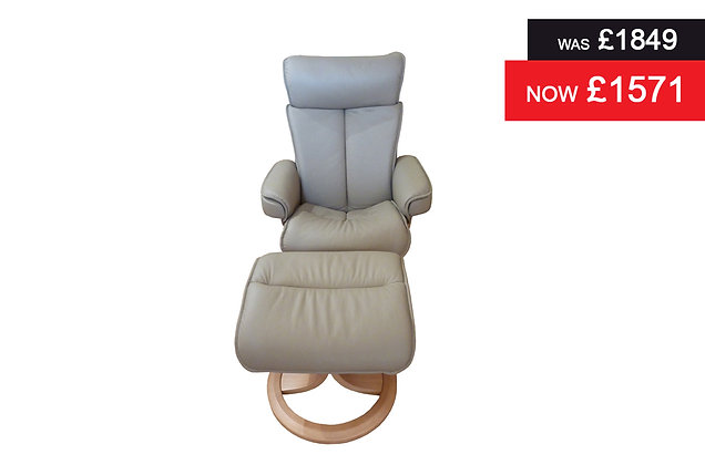 G Plan Bergen Standard Chair & Stool - Cambridge Taupe