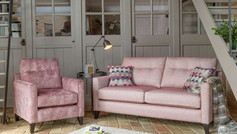 Alstons Lexi 3 Seater and Armchair