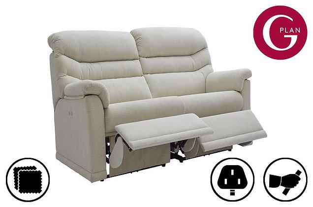 G Plan Malvern Double 2 Seater Recliner Sofa