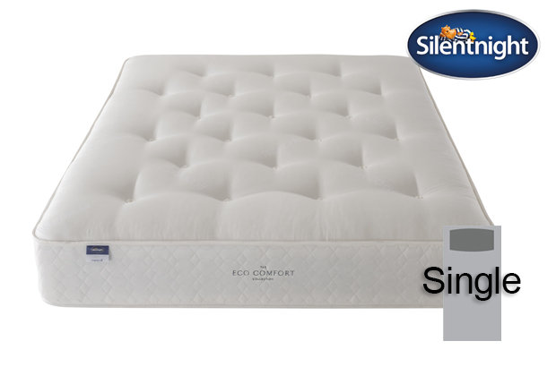 Silentnight Miracoil Saffron Eco Comfort Single Mattress
