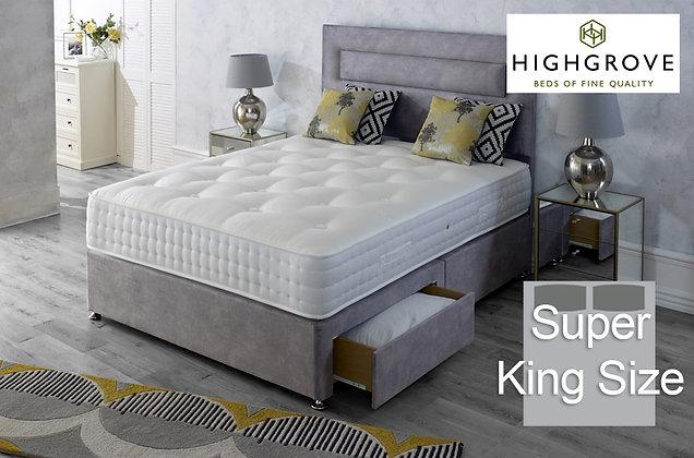Highgrove Hartwell Ortho Super King Size Divan Bed