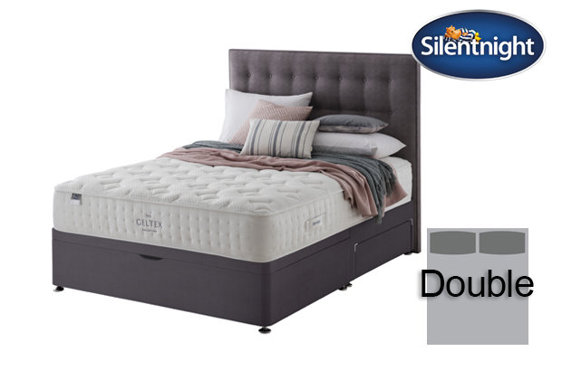 Silentnight Mirapocket Pastel Geltex 1000 Double Divan Bed