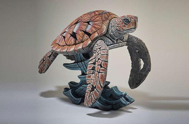 Edge Sculpture Sea Turtle Figure