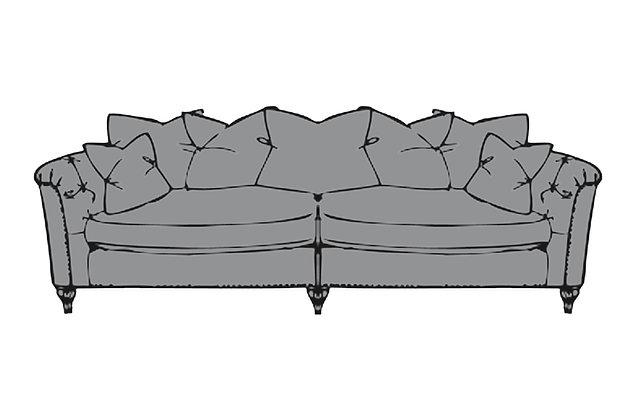 Sophia Grand Split Pillow Back Sofa