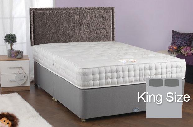 Kelso 1000 King Size Divan Bed