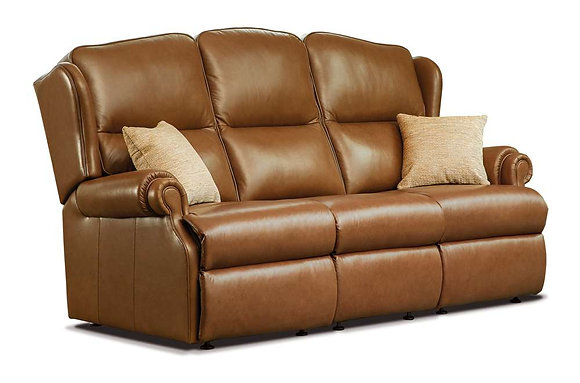 Sherborne Claremont Leather 3 Seater Sofa
