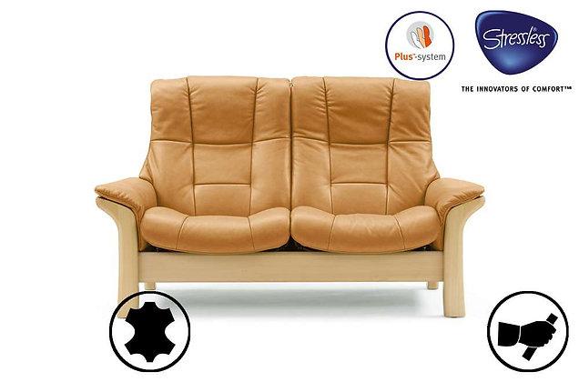 Stressless Buckingham High Back 2 Seater Recliner Sofa