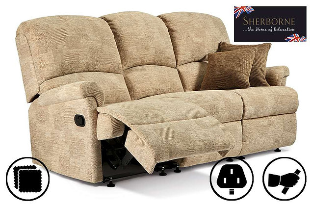 Sherborne Nevada 3 Seater Recliner Sofa