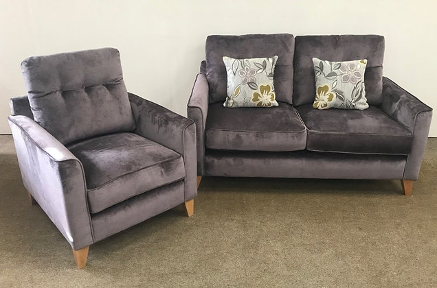 Brooke 2 Seater Sofa & Armchair
