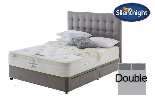 Silentnight Mirapocket Eco Comfort Breath 1200 Double Divan Bed