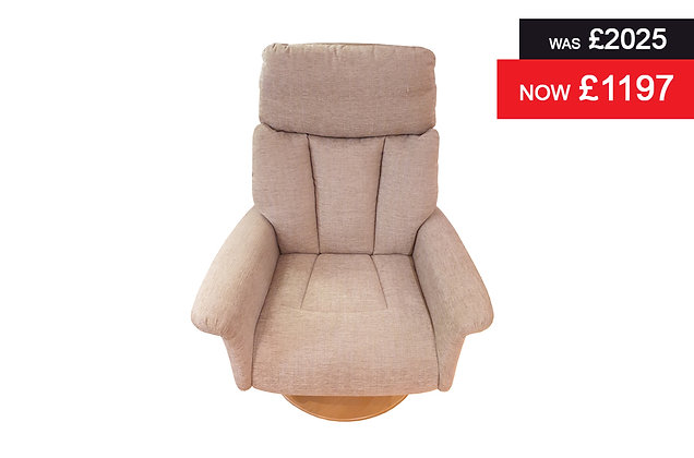 Oxford Large Power Recliner Chair - Aria Naturals