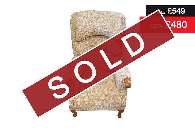 Norton Petite Fireside Chair - 15880 / Teak
