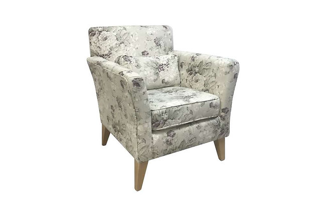 Dereham Accent Chair – Floral cover