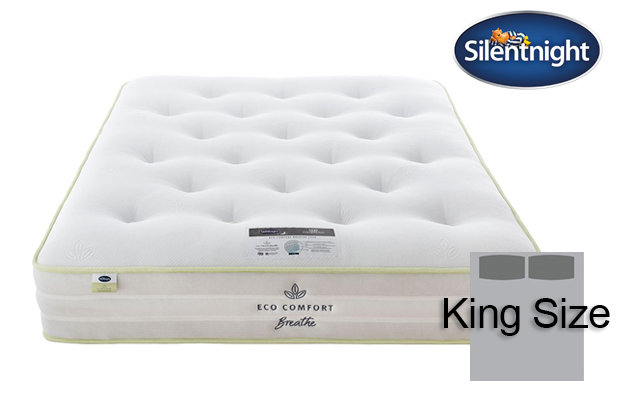 Silentnight Mirapocket Eco Comfort Breath 2000 King Size Mattress
