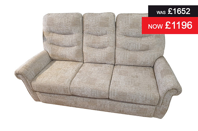 G Plan Holmes Small 3 Seater Sofa - Hascombe Sand