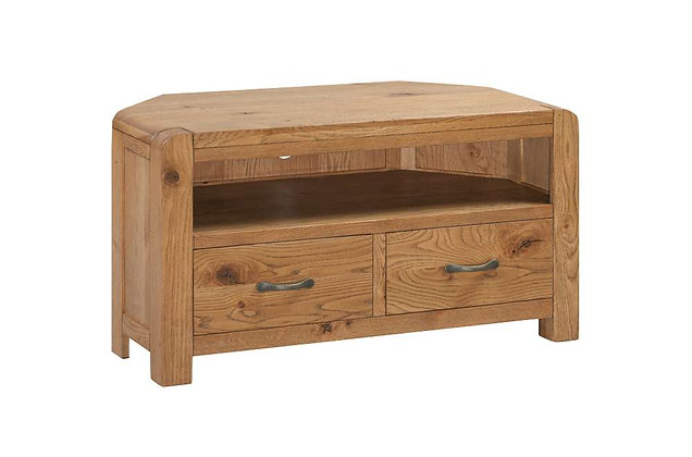 Capricorn Oak Corner TV Unit