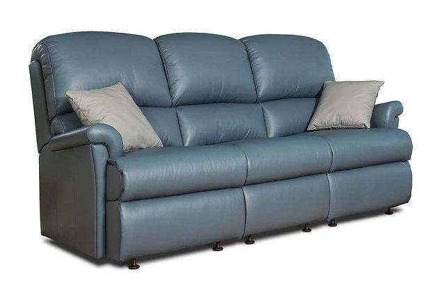 Sherborne Nevada Leather 3 Seater Sofa