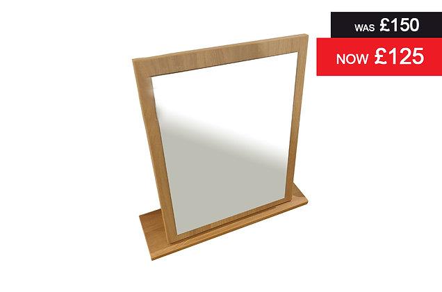 Solent Dressing Table Mirror - Oak