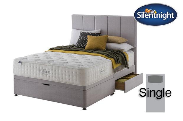 Silentnight Mirapocket Luxuriant Natural 1400 Single Divan Bed