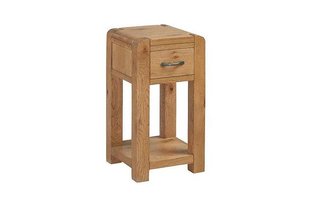 Capricorn Oak Telephone Table