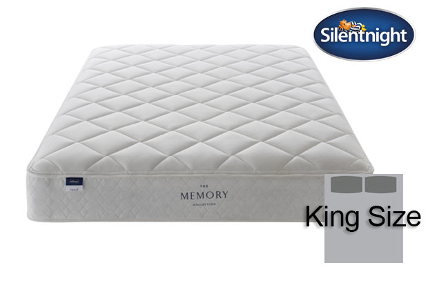 Silentnight Miracoil Seraph Memory King Size Mattress