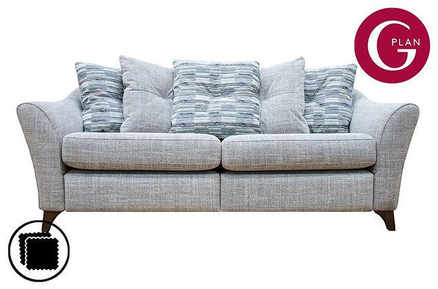 G Plan Hatton 3 Seater Pillow Back Sofa