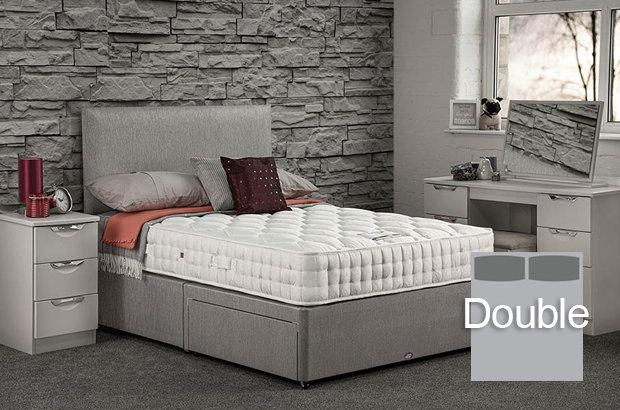 Pinnacle Ortho Double Divan Bed