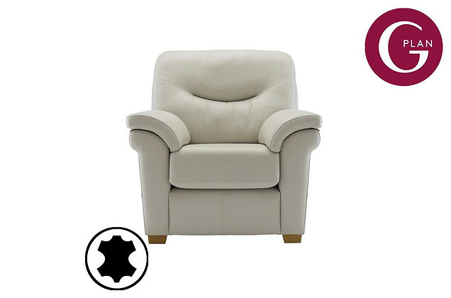 G Plan Washington Leather Armchair