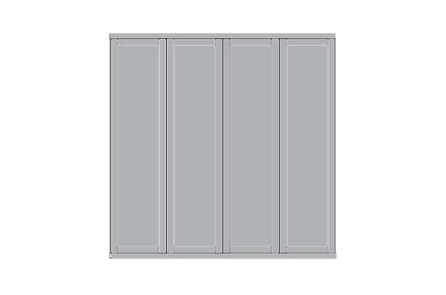 Cambridge 4 Door Wardrobe