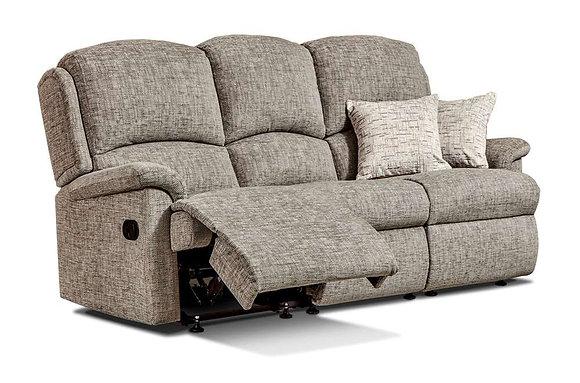 Sherborne Virginia Small 3 Seater Recliner Sofa