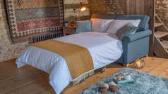 Alstons Poppy Fabric Sofa Bed