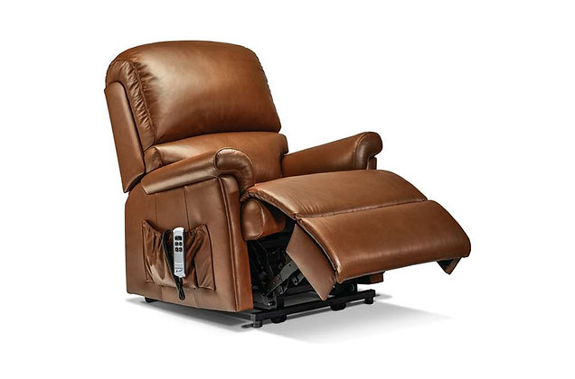 Wexford Leather Petite Lift & Rise Care Recliner Chair