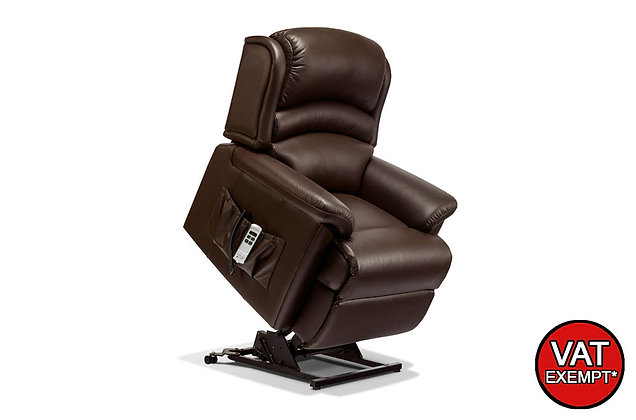 Sherborne Olivia Leather Standard Lift & Rise Care Recliner Chair