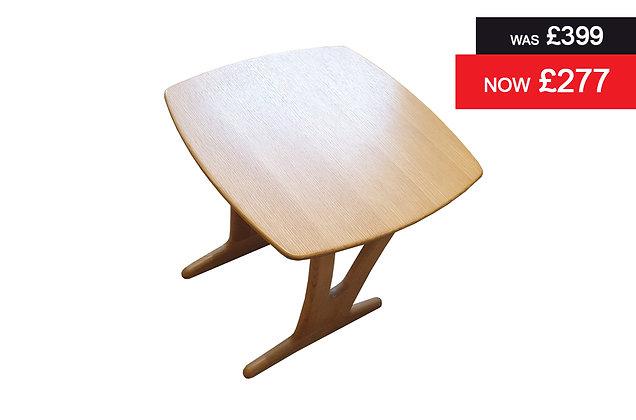 Iris Square Lamp Table