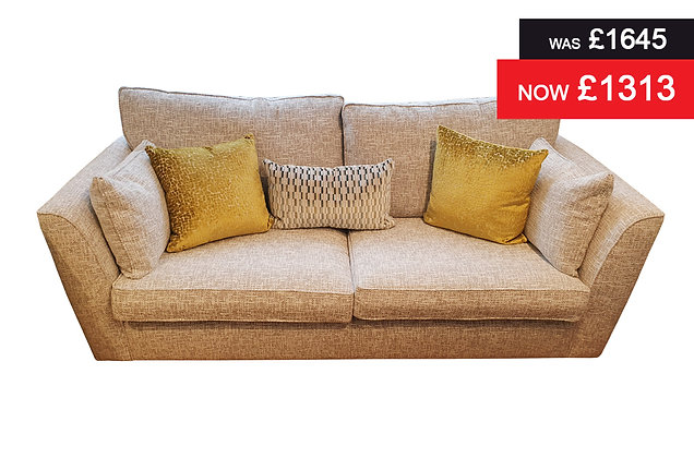 Laughton Grand Sofa - Dove Crossback