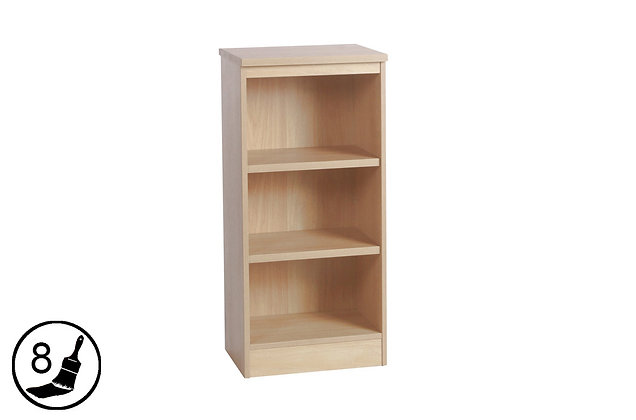 R White M-B48 – Mid Height Bookcase (480mm Wide)