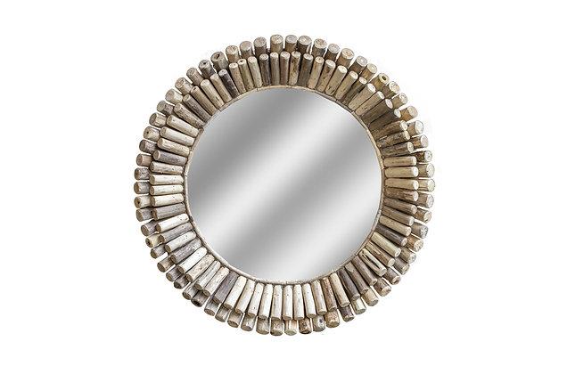 Driftwood Iona Round mirror