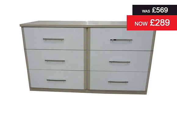 Azure 6 Drawer Chest
