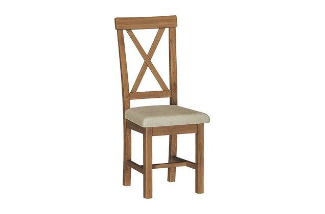 Raoti Cross Back Dining Chair
