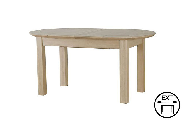 Charmwood D-End Extending Dining Table