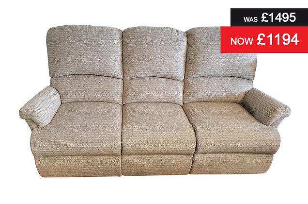 Sherborne Nevada 3 Seater Sofa - Tuscany Pebble