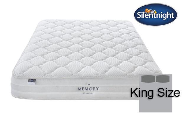 Silentnight Mirapocket Castiel Memory 800 King Size Mattress