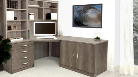 R White Office Furniture in Grey Nebraska