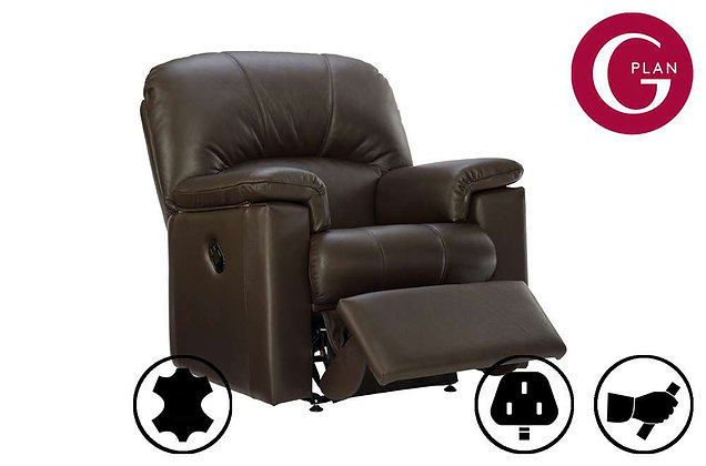 G Plan Chloe Leather Recliner Chair