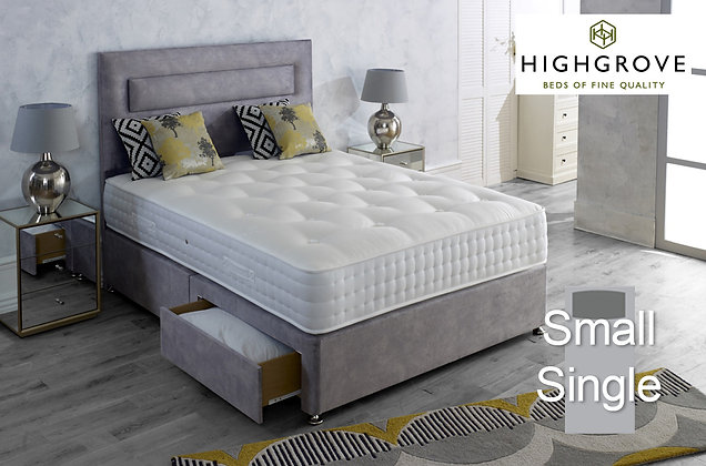 Highgrove Mayfield Ortho Small Single Divan Bed