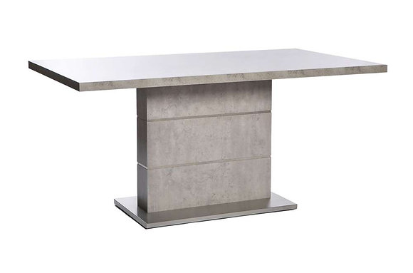 Seattle Rectangular 160cm Fixed Top Dining Table